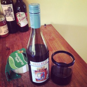 Packing Tape and Wine - Moving Tools