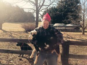 Goat lifting. :)